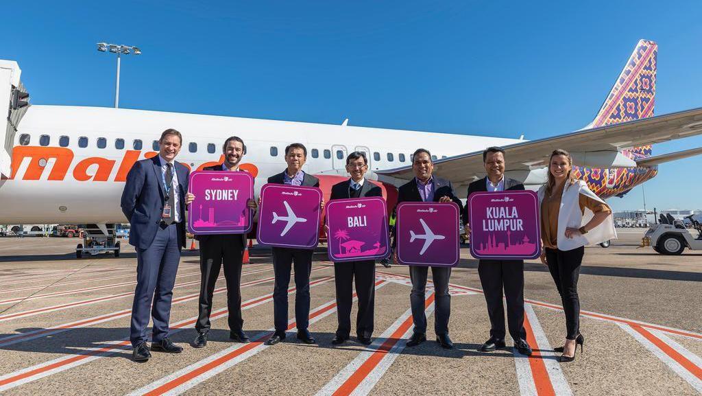 Kemenpar Gelar Inaugural Sambut Penerbangan Malindo Sydney-Denpasar