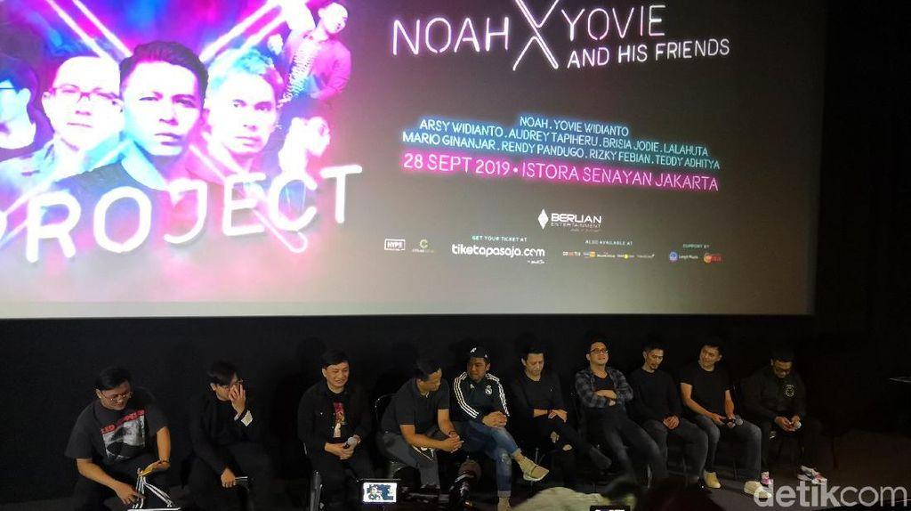Tiket Diburu, Ini yang Spesial dari Project X NOAH dan Yovie Widianto