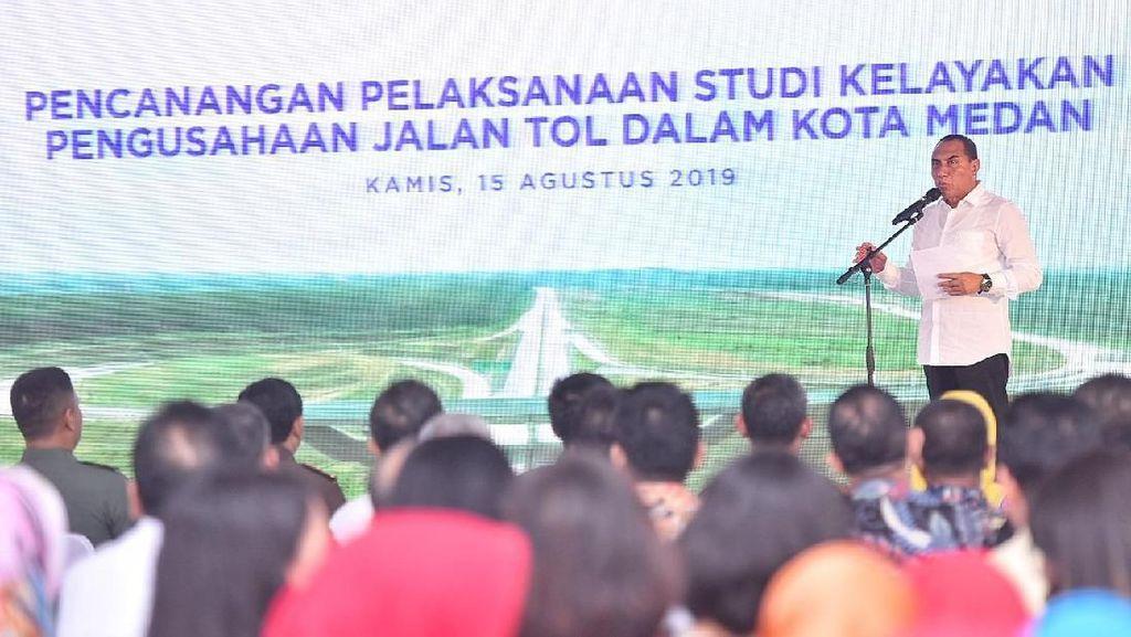 Mantul! Medan Bakal Punya Jalan Tol 23 Km Bisa Dilewati Motor
