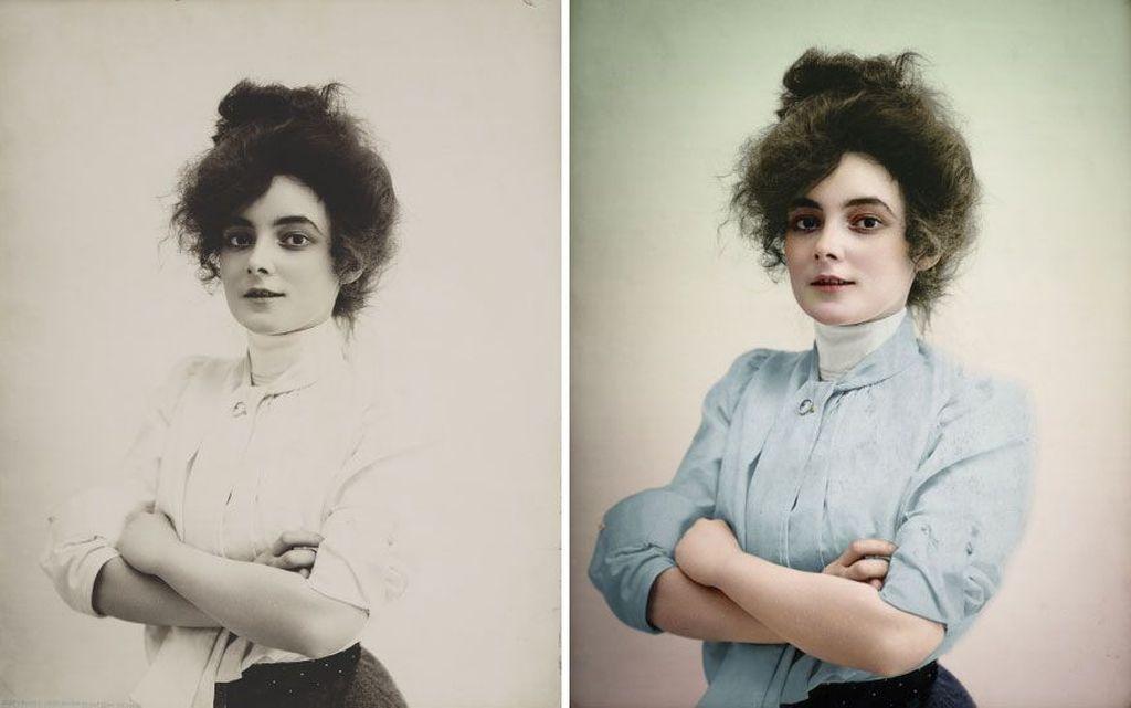 Foto aktris Marie Doro tahun 1902. Foto: Mario Unger