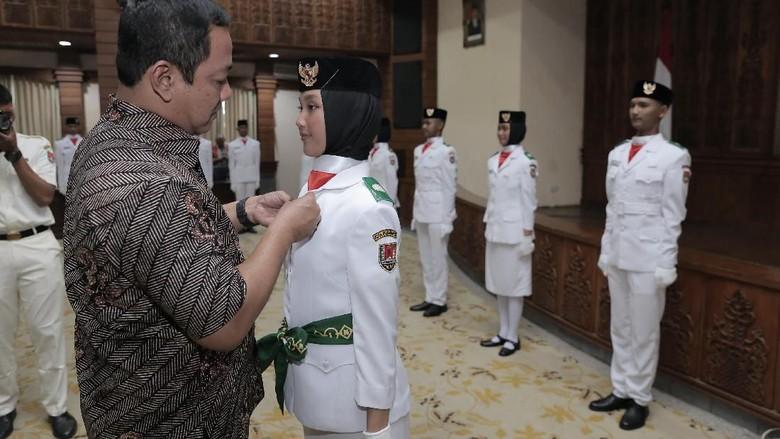 Pesan Walkot Hendi untuk Paskibraka Kota Semarang