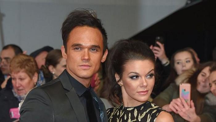 Gareth Gates dan Faye Brookes. Foto: Getty Images