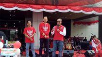 Sambut HUT RI Ke-74 Kemnaker Gelar Pesta Rakyat Tripartit