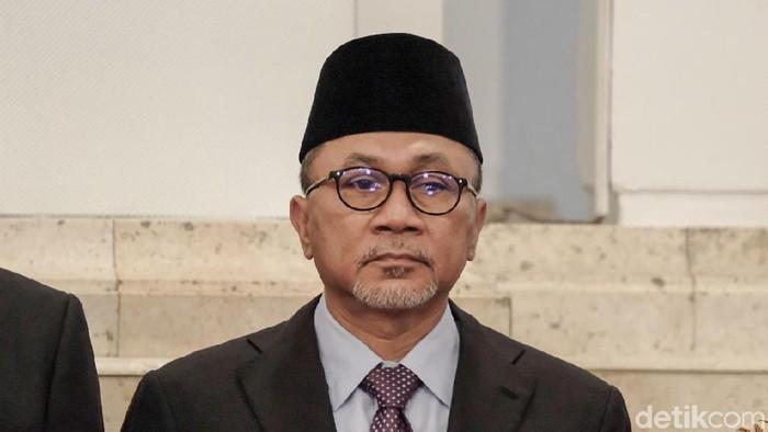 Foto: Ketua MPR Zulkifli Hasan (Andhika Prasetia-detikcom).