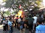 4 Polisi Terbakar, Mahasiswa Cianjur Diduga Rencanakan Aksi Bakar Ban