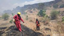 Petugas Masih Selidiki Motif Terbakarnya Lahan Gunung Tambora