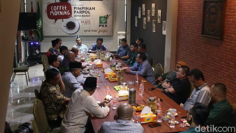 Pimpinan Parpol Pemilik Kursi DPRD Kumpul Bahas Pembangunan Jabar
