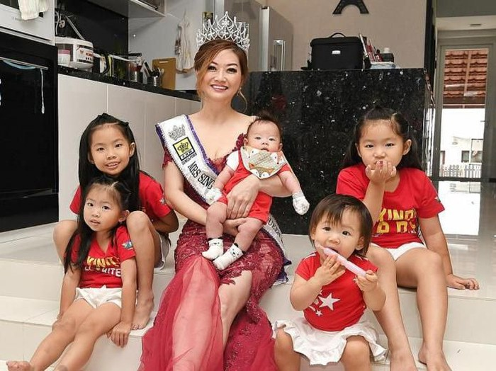 Laura Lee, nenek lima cucu juara kontes kecantikan. Foto: Dok. TNP/KHALID BABA