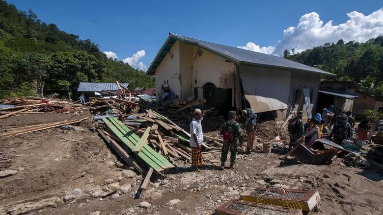 Begini Dampak Kerusakan Banjir Bandang yang Menerjang Sigi