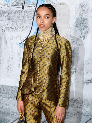 LONDON, ENGLAND - JUNE 25:  FKA Twigs attends The Summer Party 2019, Presented By Serpentine Galleries And Chanel, at The Serpentine Gallery on June 25, 2019 in London, England. (Photo by Gareth Cattermole/Getty Images)