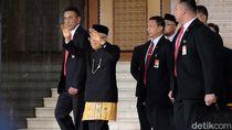 Penampilan Beda Maruf Amin Bercelana Panjang di Pidato Kenegaraan Jokowi