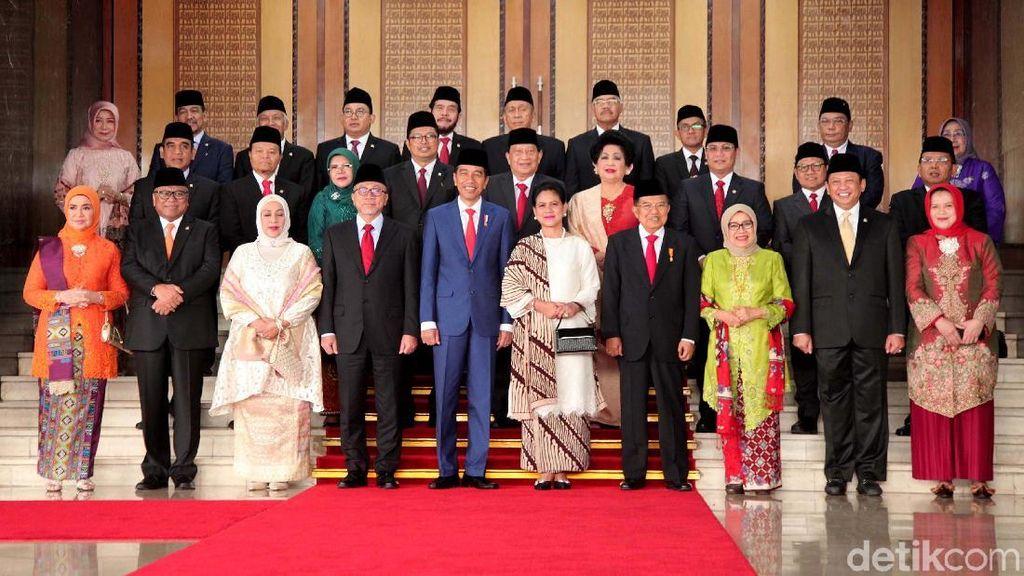 Elegan dengan Batik, Gaya Iriana Jokowi di Sidang Tahunan MPR 2019