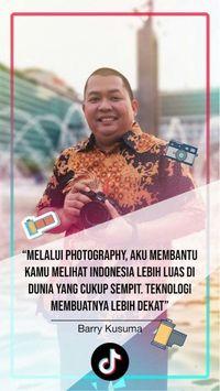 Ringan dan Fun, Mereka Sukses Kenalkan Indonesia Lewat TikTok
