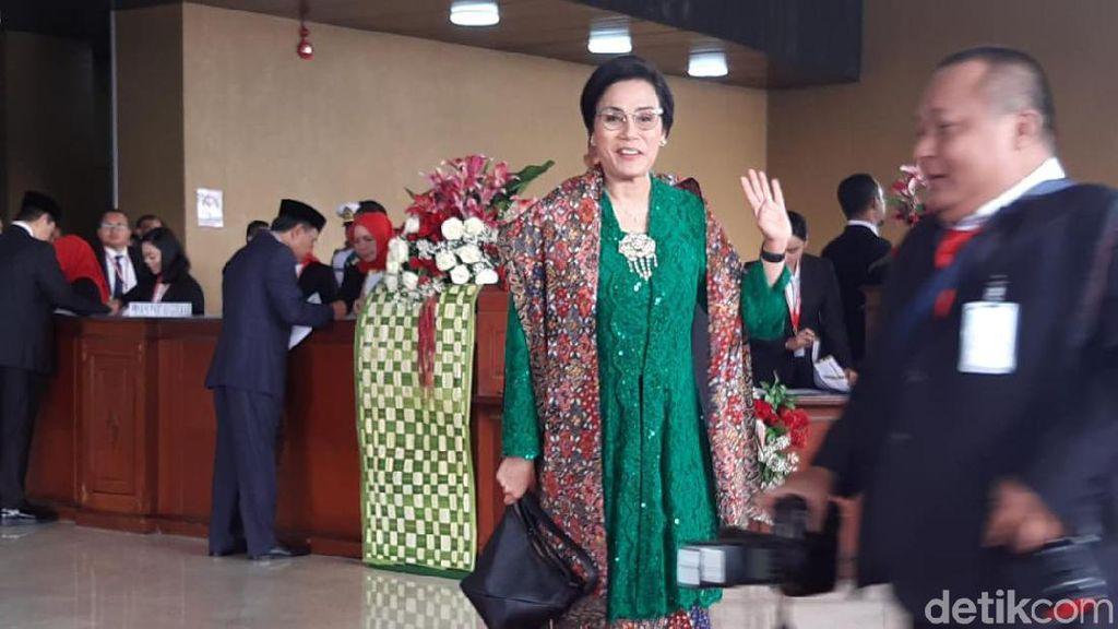 Anggunnya Sri Mulyani dan Retno Marsudi di Sidang Tahunan MPR