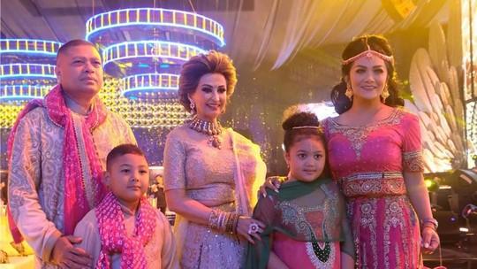 Glamornya Penampilan Para Artis di Pesta Pernikahan Putra Raam Punjabi