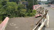 Ambles Sejak 2018, Jembatan Muarasari Bogor Belum Diperbaiki