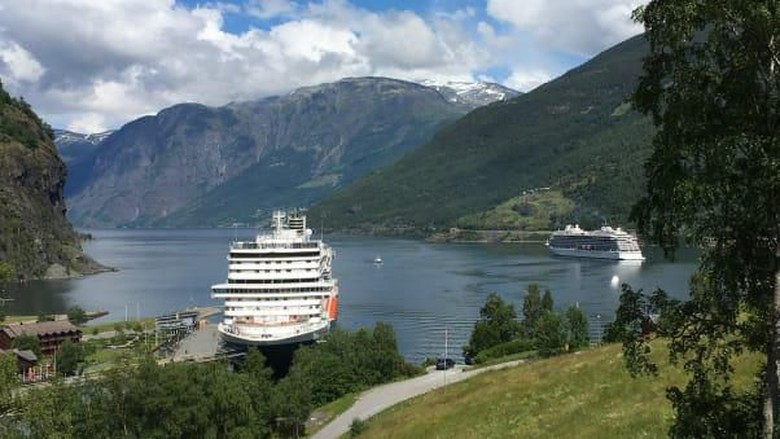 Pelabuhan Flam, Norwegia (Cruise Critic/CNN)