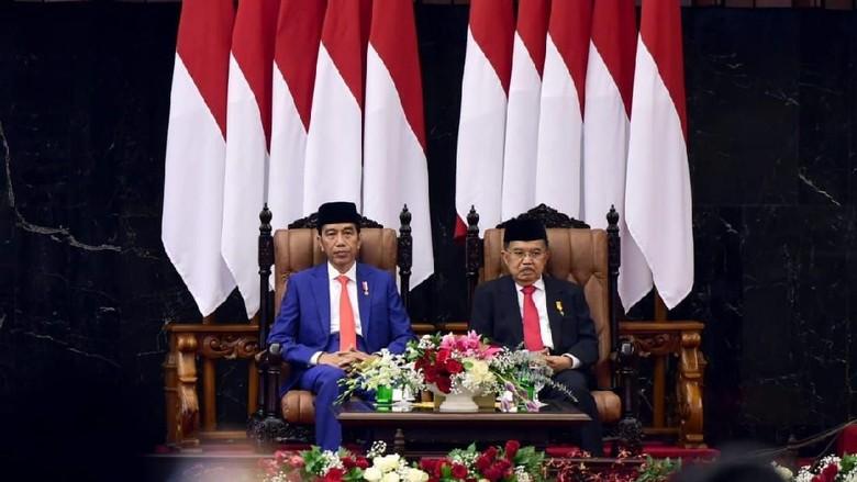 Naik-Turun Tingkat Kepuasan ke Jokowi Selama 5 Tahun Versi Survei Kompas