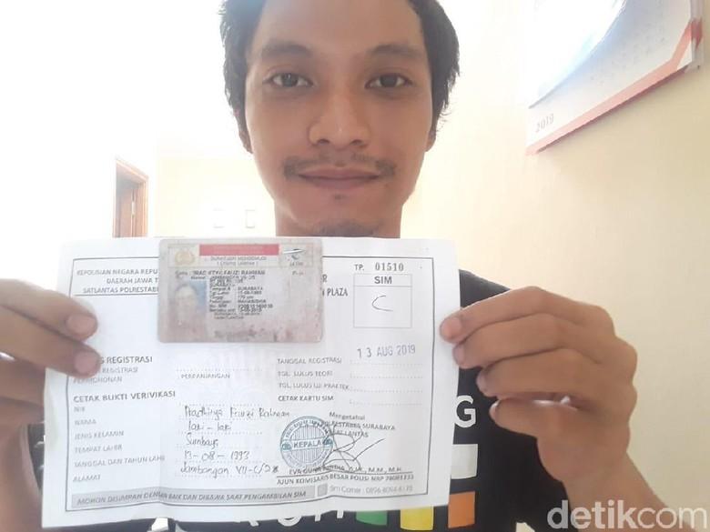 Material Habis, Pengurusan SIM Warga Surabaya Dipusatkan di Satpas Colombo