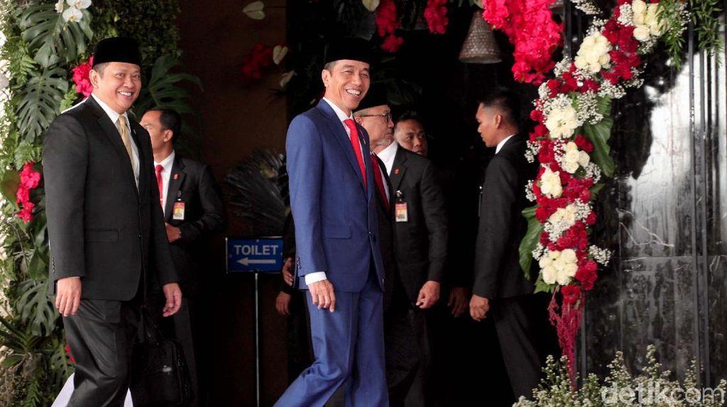Jokowi Beberkan soal Utang dan Defisit APBN di Depan DPR