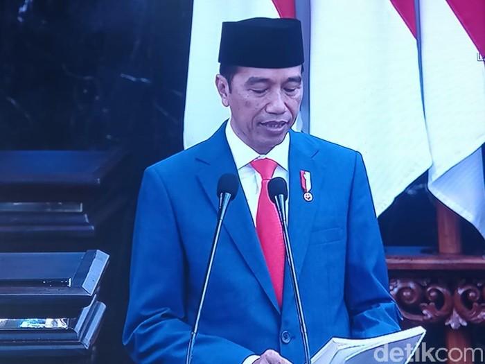 Presiden Jokowi (Zunita/detikcom)