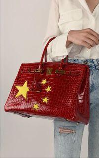 Mirip Bendera China, Tas Hermes Birkin Dijual Rp 1,7 Miliar