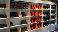 Snack dari cokelat, ubi atau buah-buahan juga banyak ditemui di Hainan (Shinta/detikcom)