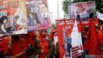 Massa Buruh Gelar Aksi Demonstrasi di Kawasan DPR