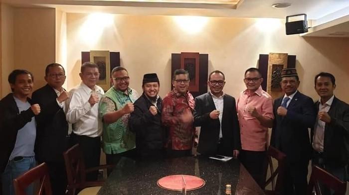 Para sekjen Koalisi Indonesia Kerja (KIK) berkumpul. (Foto: Dok. Istimewa)