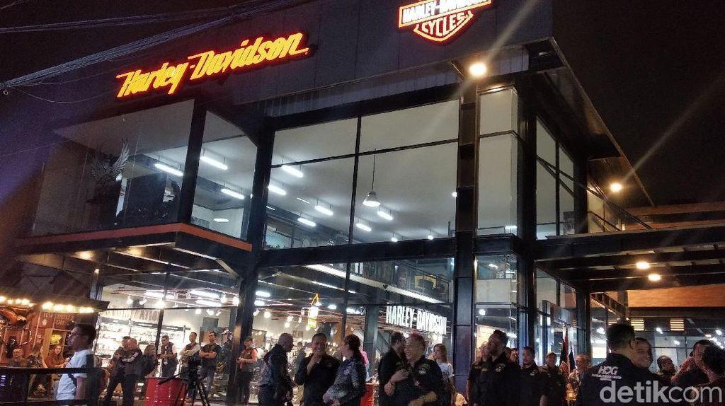 Pencinta Moge Harley RI-Malaysia-Thailand Ngariung di Bandung