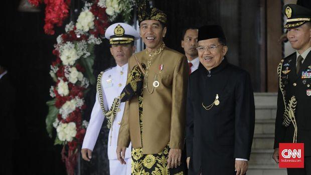 Dalam pidato kenegaraannya, Jokowi menyinggung soal studi banding keluar negeri jajaran eksekutif.