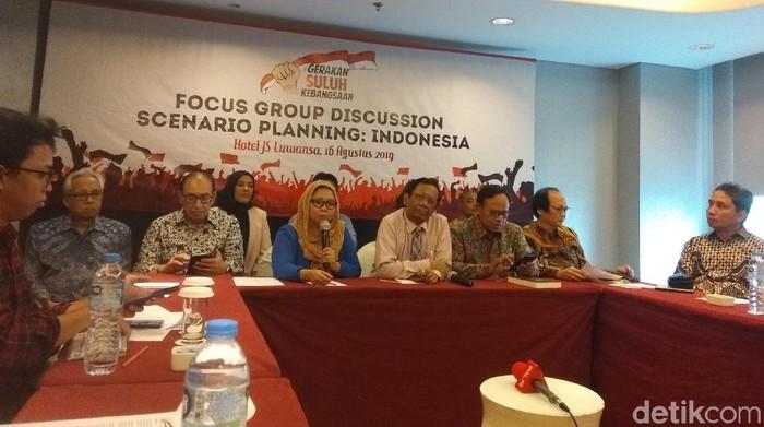 Focus group discussion (FGD) bertema Scenario Planning: Indonesia. (Yulida Medistiara/detikcom)