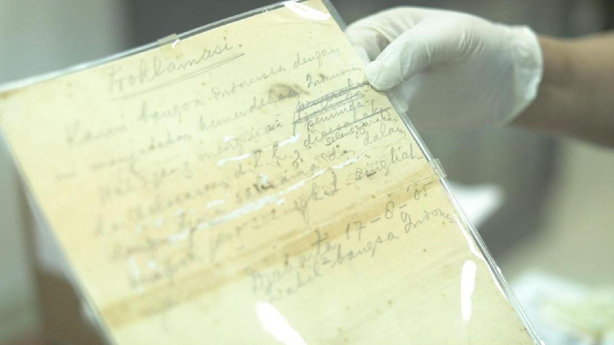 Isi Teks Proklamasi Dan Detik Detik Perumusannya