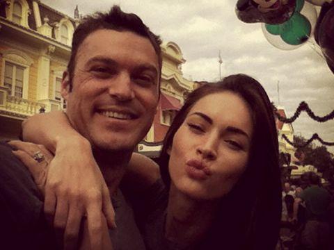 Megan Fox dan suaminya,Brian Austin Green.