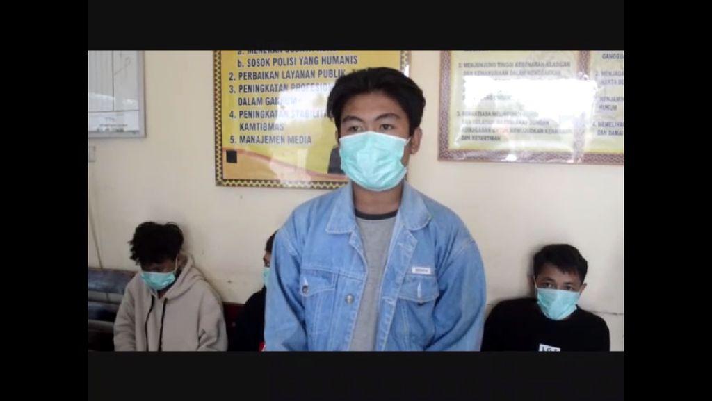 Bully Kakek di Lampung, 4 Pemuda Diamankan