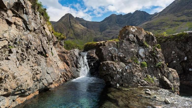 Fairy Pools di Skotlandia (Foto: iStock)