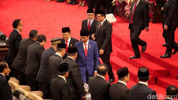 Jokowi di Sidang Tahunan MPR /