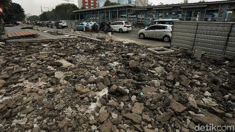 Progres Terkini Revitalisasi Pedestrian di Salemba