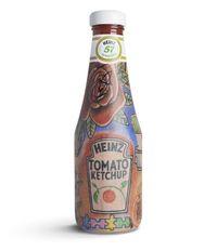 Keren! Desain Botol Saus Tomat Ini Memakai Pola Tato Ed Sheeran