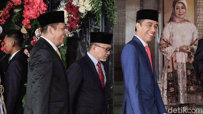 Foto: Jokowi di Sidang Tahunan MPR (Andhika/detikcom)