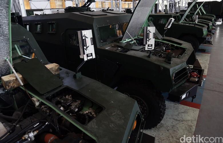 Mobil Militer Nasional Pindad. Foto: Dikhy Sasra