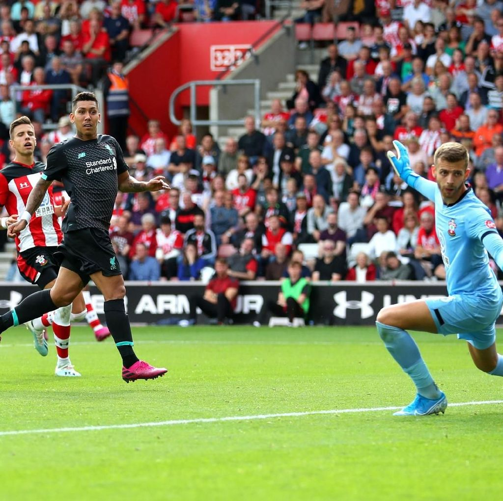 Mane dan Firmino Menangkan Liverpool di Markas Southampton