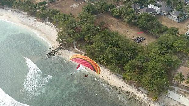 Pengibaran Bendera Jadi Bukti Pulihnya Pariwisata Tanjung Lesung