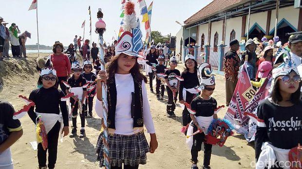 Momen Agustusan, Warga di Demak Promosikan Potensi Desa