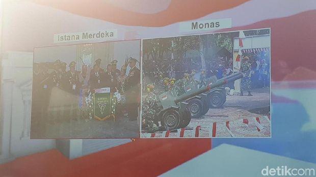 17 Dentuman Meriam Awali Peringatan Proklamasi di Istana Merdeka