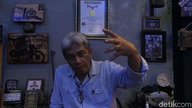 Rizal Ginting saat ditemui di rumahnya