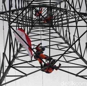 Perjuangan PLN Benahi Tower Listrik di Kaki Gunung Aceh