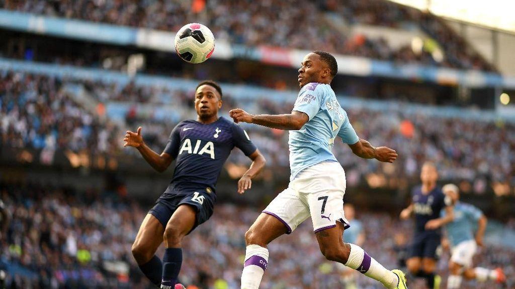 Man City Ungguli Tottenham di Babak Pertama