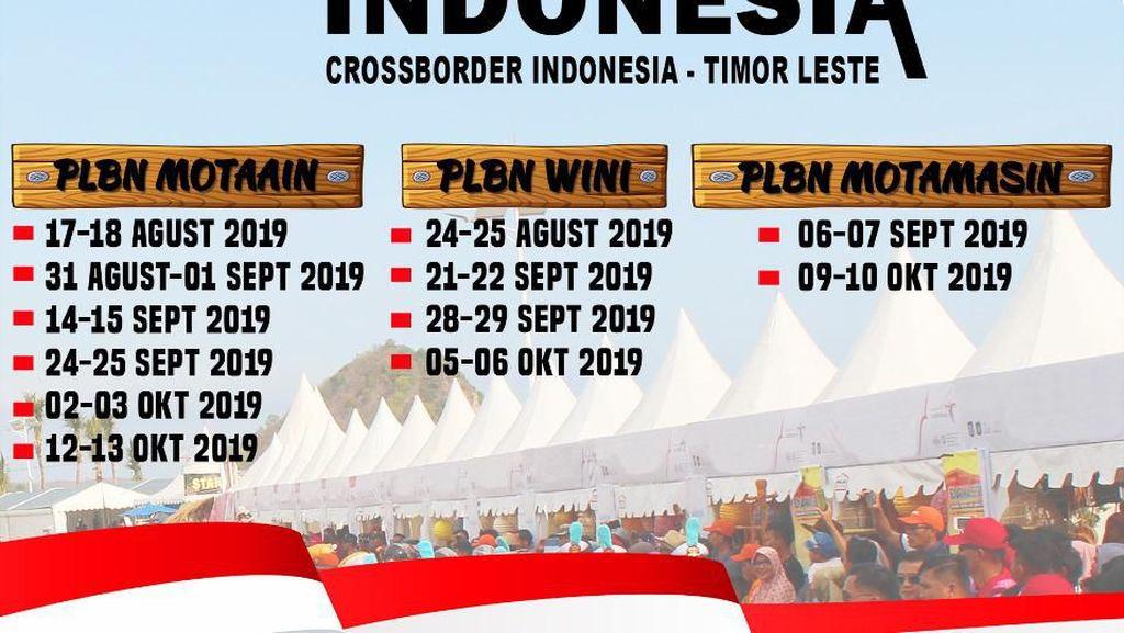 Kemenpar Siapkan 12 Festival di Perbatasan Indonesia-Timor Leste