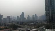 Data AirVisual Minggu Pagi, Udara Jakarta Tidak Sehat